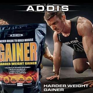 Addis Gainer - Harder Weight Gainer 10lbs / 10 Lbs / 10 lb