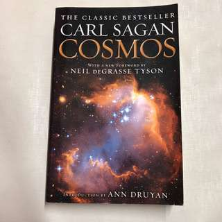 Cosmos by Carl Sagan pop science book