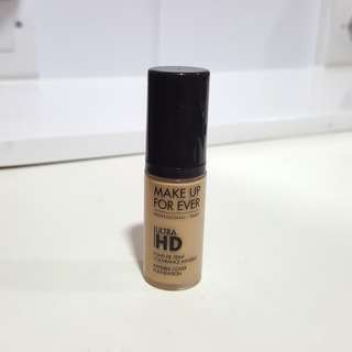 Makeup Forever MUFE Ultra HD Foundation sample mini size Y225 Preloved