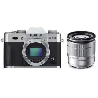Fujifilm X-T10 Kit 16-50mm + Instax Mini 70 Bisa Cash Dan Kredit Gan