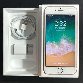 【極新無傷】Apple iPhone 6S 64G 玫瑰金 盒裝