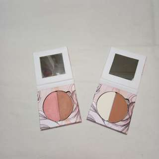 BunnyxEcstasy Pressed Mineral blush duo