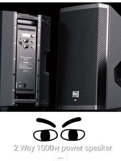 ZLX12P original EV power speakers