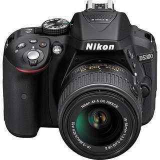 Nikon D5300 KIT AFP 18-55mm Bisa Kredit DP Murah Bgt Gan