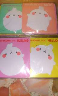 Molang Set of 32 pieces