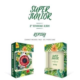 [PREORDER] Super Junior - 8집 리패키지 REPLAY (KINOALBUM)