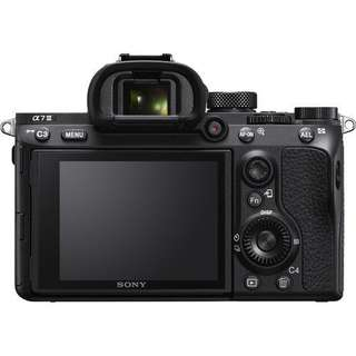 Sony Alpha a7 III Body Only + FE 55mm f1.8 ZA Lens Sonnar T Bisa Cash Dan Kredit