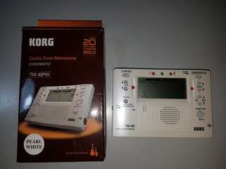 Korg Combo Guitar Tuner with Metronome