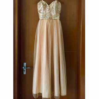 Gold / Bronze Formal Gown