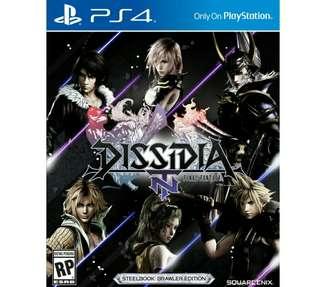 New/Sealed PS4 Final Fantasy Dissidia