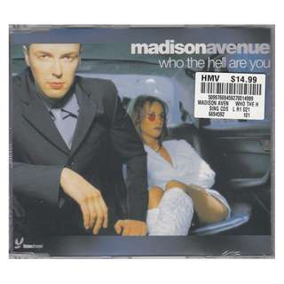Madison Avenue: <Who The Hell Are You> 2000 CD Single (Brand New)