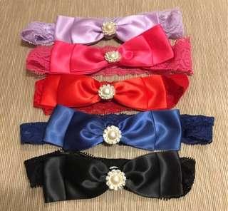 1Pcs lace ribbon headband