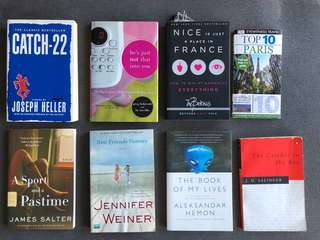 Assortment of brand new books