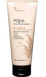 Face shop cleansing foam