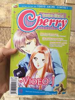 VIDEO J ( CHERRY SERIES) - BUKU KOMIK JEPANG