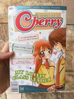 MY LOVELY CLASS LEADER ( CHERRY SERIES ) - BUKU KOMIK JEPANG