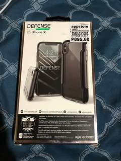 Defense clear casing for Iphone X