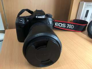 Canon 70D (BODY + GRIP ONLY)
