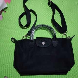Longchamp Mini plain 2way bag