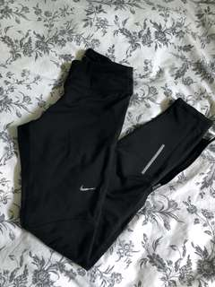 Nike dri fit running leggings XS