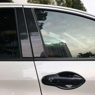 Honda vezel hrv carbon fibre door handles