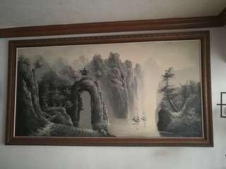 🚚 山水畫