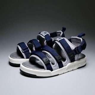 藍灰款nb 涼鞋26.5