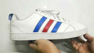 NAME YOUR PRICE | Preloved Adidas Authentic - Blue Red Stripes