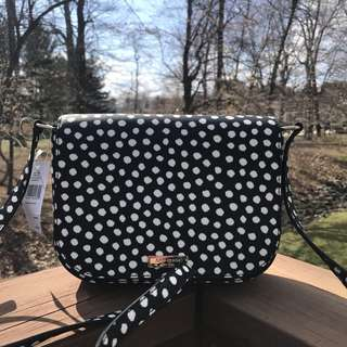 KATE SPADE LAUREL WAY LARGE CARSEN MUSICAL DOT CROSSBODY