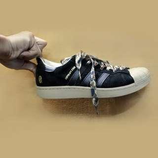 NAME YOUR PRICE | Preloved Adidas Super Ape Star x Bape (Black)