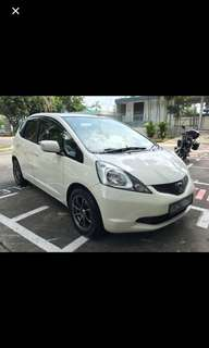 Honda Fit for rent, GRAB ready!