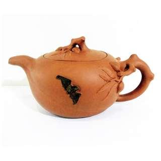 * 014 * ROC Chinese Yixing Zisha Teapot 民国宜兴紫砂茶壶