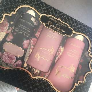 beauty body pack (pink orchid with cashmere & vanilla)