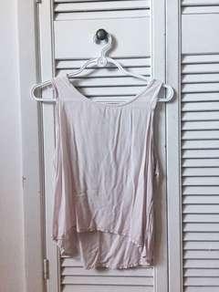 Pink bow back shirt