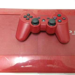 ps3 red superslim 500gb