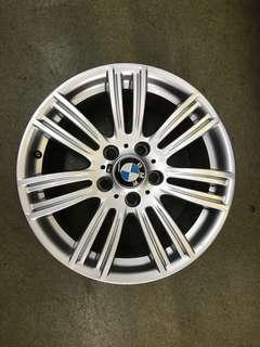 "17"" 5x120 bmw staggered wheel 1 set $250"