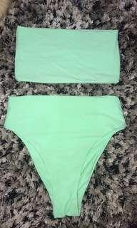 New bikini mint size xs