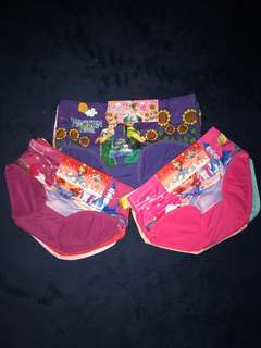 Girls 3pc set Panties