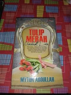 [BRAND NEW] Malay Novel - Tulip Merah Untuk Dia.
