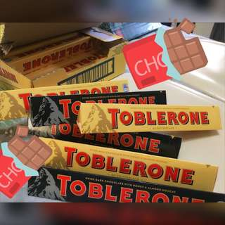 Toblerone Chocolates 100g
