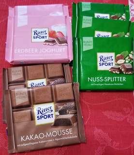 Ritter Sports Chocolate