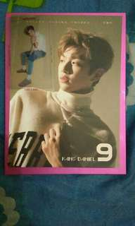 Kang daniel wanna one calendar card and photocard only