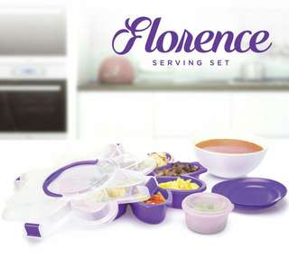 Disc. Khusus hari ini*florence serving set*