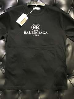 👨👱‍♀️🎉🛍Authentic BALENCIAGA MODE Tee,Restock!! Full Size!!