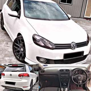 SAMBUNG BAYAR / CONTINUE LOAN  GOLF MK6 1.4 TSI AUTO TURBO SUPERCHARGE