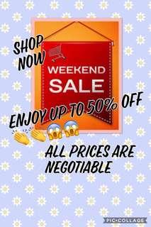 Weekend Sale !!!