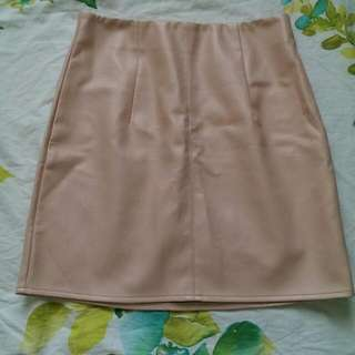 """Small """"Leather"""" Skirt"""