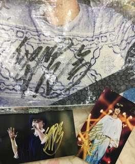 華晨宇 親筆簽名絕版週邊