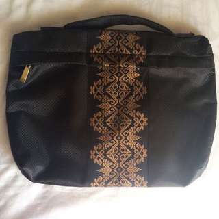 Black Batik Laptop Case
