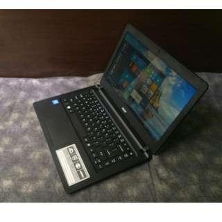 Slim Laptop Acer Aspire Quad core Windows 10